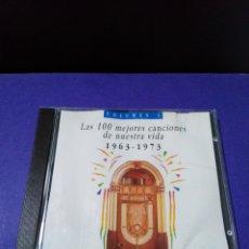 CDs de Música: LAS 100 MEJORES CANCIONES DE NUESTRA VIDA 1963-1973 ( 10 CD ). Lote 187605570