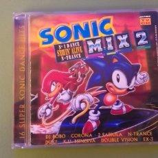 CDs de Musique: SONIC MIX 2 CD DANCE TRANCE ARCADE 1995 + 5€ ENVIO C.N. Lote 187640290