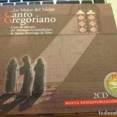 CDs de Música: CANTO GREGORIANO. 2 CD. Lote 187784201