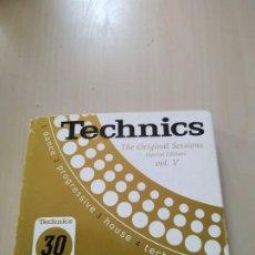 CDs de Música: TECHNICS. THE ORIGINAL SESSIONS VOL.V. 4 CDS. RECIPILATORIO. Lote 188047712