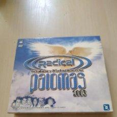 CDs de Música: RADICAL. FIESTA DE LAS PALOMAS 2003. 2 CDS + DVD. RECOPILATORIO. Lote 188050503