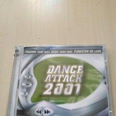 CDs de Música: DANCE ATTACK 2001. 2CDS. RECOPILATORIO. Lote 188059921