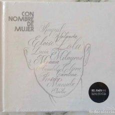 CDs de Música: CON NOMBRE DE MUJER. JOAN MANUEL SERRAT, RADIO FUTURA,NINO BRAVO,EL ÚLTIMO DE LA FILA... CD NUEVO. Lote 188159067