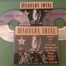 CD de Música: MAQUINA TOTAL 3 CD DOBLE + 5 € ENVIO C.N.. Lote 188430796