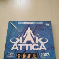 CDs de Música: ATTICA ACTIVIDAD CONSTANTE 2003. 2 CDS. RECOPILATORIO. Lote 188458622