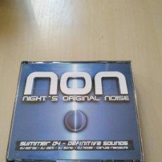 CDs de Música: NON. NIGHT'S ORIGINAL NOISE. 2 CDS. RECOPILATORIO.. Lote 188458752