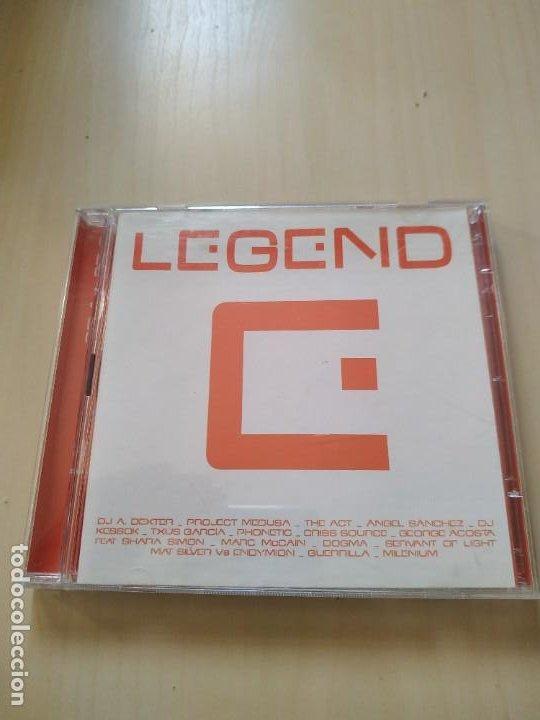 LEGEND. 2 CDS. RECOPILATORIO (Música - CD's Disco y Dance)
