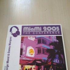 CDs de Música: MIAMI 2005 THE CONFERENCE. 2 CDS. RECOPILATORIO. Lote 188460198