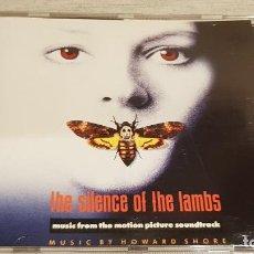 CDs de Música: B.S.O. / THE SILENCE OF THE LAMBS / HOWARD SHORE / CD - MCA / 13 TEMAS / CALIDAD LUJO.. Lote 188466862