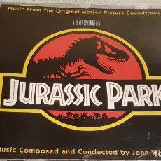 CDs de Música: B.S.O. / JURASSIC PARK / JOHN WILLIAMS / CD - MCA / 16 TEMAS / CALIDAD LUJO.. Lote 188468353