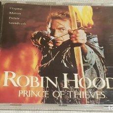CDs de Música: B.S.O. / ROBIN HOOD - PRINCE OF THIEVES / MICHAEL KAMEN / CD - POLYDOR / 10 TEMAS / DE LUJO.. Lote 188469567