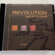 CDs de Música: REVOLUTION DEEJAYS TOUR. VOLUMEN 1. DJ NANO. RESIDENT DJ SONIQUE. Lote 188474617