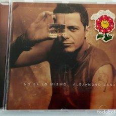 CDs de Música: ALEJANDRO SANZ. NO ES LO MISMO, 2003. Lote 188476070