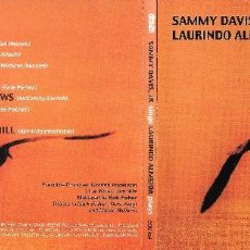 CDs de Música: SAMMY DAVIS JR. SINGS LAURINDO ALMEIDA PLAYS. Lote 188476825