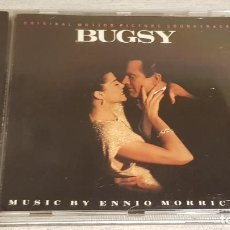 CDs de Música: B.S.O. / BUGSY / ENNIO MORRICONE / CD - SONY MUSIC-1991 / 22 TEMAS / CALIDAD LUJO.. Lote 188491292