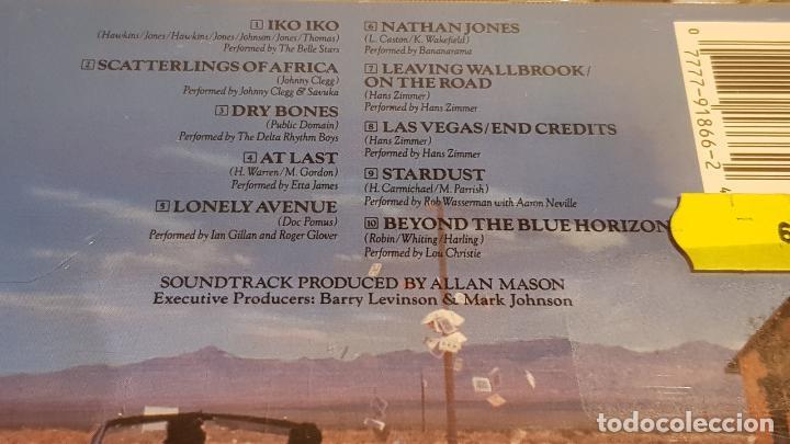 CDs de Música: B.S.O. / RAIN MAN / HANS ZIMMER / CD - CAPITOL / 10 TEMAS / CALIDAD LUJO. - Foto 4 - 188503031