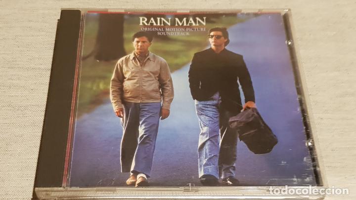 B.S.O. / RAIN MAN / HANS ZIMMER / CD - CAPITOL / 10 TEMAS / CALIDAD LUJO. (Música - CD's Bandas Sonoras)