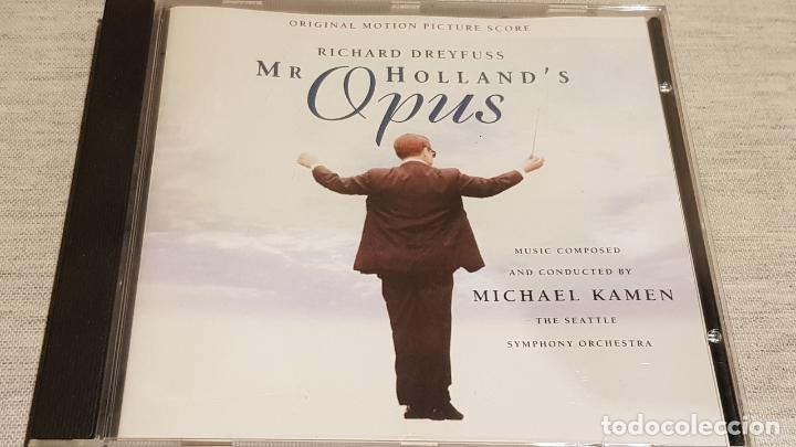 B.S.O. / MR. HOLLAND'S OPUS / MICHAEL KAMEN / CD - LONDON-1996 / 13 TEMAS / DE LUJO. (Música - CD's Bandas Sonoras)