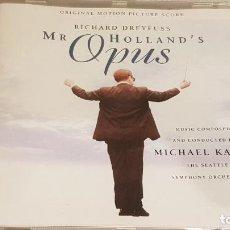 CDs de Música: B.S.O. / MR. HOLLAND'S OPUS / MICHAEL KAMEN / CD - LONDON-1996 / 13 TEMAS / DE LUJO. DIFÍCIL !!. Lote 188503616