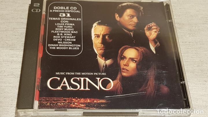 B.S.O. / CASINO / VARIOS ARTISTAS / DOBLE CD - MCA / 31 TEMAS / CALIDAD LUJO. (Música - CD's Bandas Sonoras)