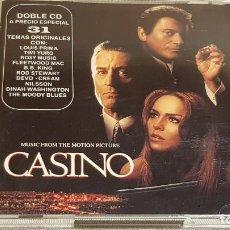 CDs de Música: B.S.O. / CASINO / VARIOS ARTISTAS / DOBLE CD - MCA / 31 TEMAS / CALIDAD LUJO.. Lote 188504030