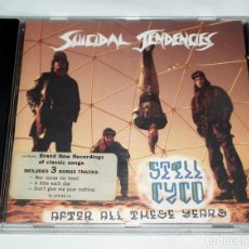 CDs de Música: CD SUICIDAL TENDENCIES - STILL CYCO AFTER ALL THESE YEARS. Lote 188505035