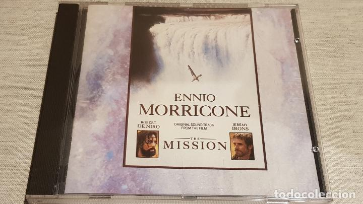 B.S.O. / THE MISSION / ENNIO MORRICONE / CD - VIRGIN-UK / 20 TEMAS / CALIDAD LUJO (Música - CD's Bandas Sonoras)