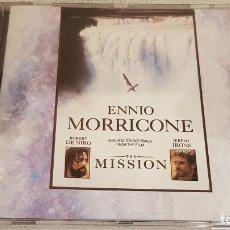 CDs de Música: B.S.O. / THE MISSION / ENNIO MORRICONE / CD - VIRGIN-UK / 20 TEMAS / CALIDAD LUJO. Lote 188505993