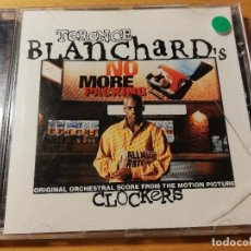 CDs de Música: TERENCE BLANCHARD'S CLOCKERS. ORIGINAL ORCHESTRAL SCORE FROM THE MOTION PICTURE. Lote 188514200