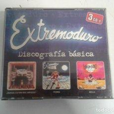 CDs de Música: 2 CD EXTREMODURO DISCOGRAFIA BASICA FALTA CD 1 . CONTIENE AGILA Y PEDRA. Lote 188524150
