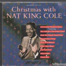 CDs de Música: NAT KING COLE - CHRISTMAS WITH NAT KING COLE / CD DE 1988 RF-3559. Lote 188530210