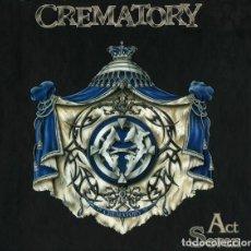 CDs de Musique: CREMATORY ?-ACT SEVEN CD 1999 NUCLEAR BLAST EDICION DIGIPACK LIBRO-CD - DESCATALOGADO . Lote 188532476