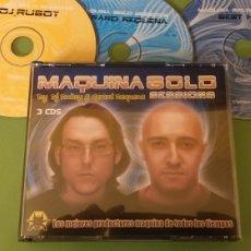 CD de Música: MAQUINA GOLD CD TRIPLE DJ RUBOY GERARD REQUENA HITS SESSION COMO NUEVO + 5 € ENVIO C.NACIONAL. Lote 188557738