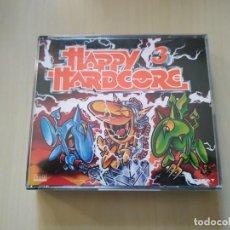 CDs de Música: HAPPY HARDCORE 3. 2 CDS. RECOPILATORIO. Lote 188560706