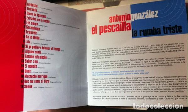 CDs de Música: ANTONIO GONZALEZ, EL PESCADILLA * CD DIGIPACK * TIRITANDO * VAMPISOUL * PRECINTADO - Foto 3 - 188565920