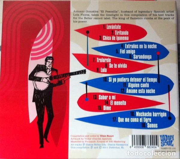 CDs de Música: ANTONIO GONZALEZ, EL PESCADILLA * CD DIGIPACK * TIRITANDO * VAMPISOUL * PRECINTADO - Foto 4 - 188565920