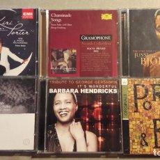 CDs de Música: LIRICA / MÚSICA VOCAL: LOTE 6 CD (GERSHWIN, CHAMINADE, COL PORTER. PORGY & BESS....). Lote 188589341