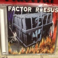 CDs de Música: FACTOR RHESUS - FACTOR RHESUS (HEAVY METAL ESPAÑOL) ALBUM CD 1996. Lote 188596353
