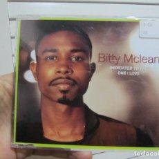 CDs de Música: BITTY MCLEAN – DEDICATED TO THE ONE I LOVE CD MAXI-SINGLE DE CADENA 100 -4 TEMAS. Lote 188606698