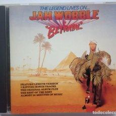 CDs de Música: JAH WOBBLE - THE LEGEND LIVES ON JAH WOBBLE IN BETRAYAL - US CD 1990 - CAROLINE BLUE PLATA. Lote 188632512