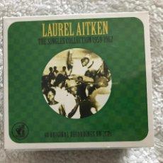 CDs de Música: LAUREL AITKEN - SINGLE COLLECTION 1959-1962 - CD DOBLE NOT BAD 2014 NUEVO. Lote 188664007