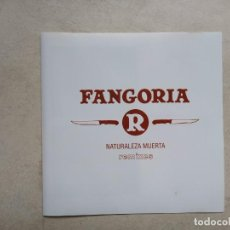 CDs de Música: FANGORIA NATURALEZA MUERTA REMIXES 2005. Lote 188712313