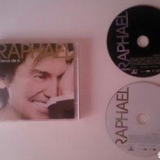 CDs de Música: RAPHAEL CD + DVD CERCA DE TI 2006 CON CANCIONES DE BUNBURY AHORA MUY BUEN ESTADO. Lote 188714442