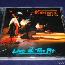 CDs de Música: KROKE LIVE AT THE PIT. Lote 188719731