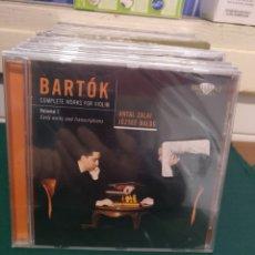 CDs de Música: BARTÓK, VIOLÍN BRILLIANT PRECINTADO. Lote 188735043