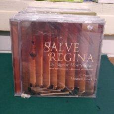 CDs de Música: MONTEVERDI/FRSCOBALDI SALVE REGINA BRILLIANT PRECINTADO. Lote 188735301