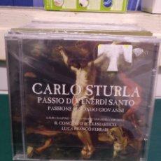 CDs de Música: CARLO STURLA BRILLIANT PRECINTADO. Lote 188736218