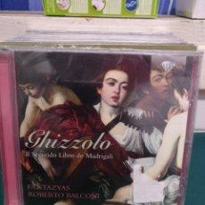 CDs de Música: GHIZZOLO MADRIGALI BRILLIANT PRECINTADO. Lote 188736293