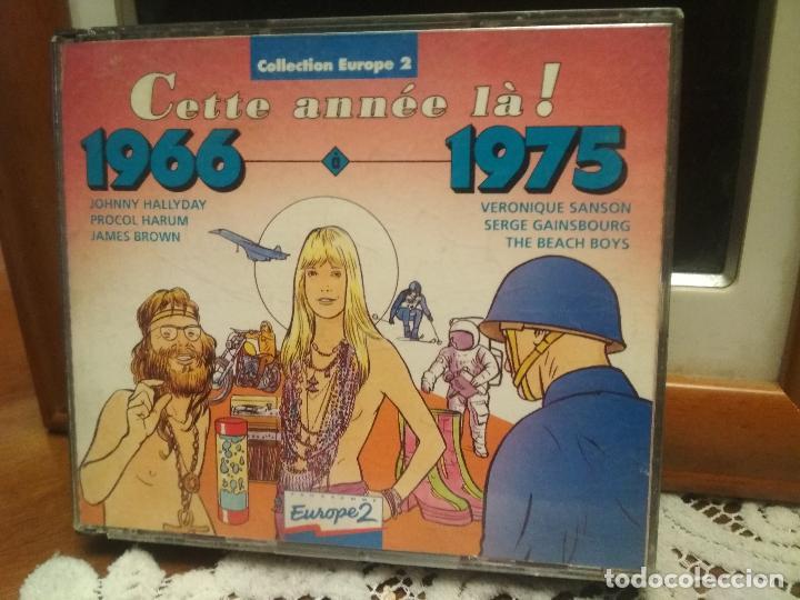 CETTE ANNEE LA¡ 1966-1975 JOHNNY HALLYDAY BEACH BOYS JAMES BROWN DOBLE CD 1992 PEPETO (Música - CD's Jazz, Blues, Soul y Gospel)
