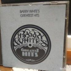 CDs de Música: BARRY WHITE - THE GREATEST HITS - CD ALBUM - 10 TRACKS - POLYGRAM RECORDS 1992 PEPETO. Lote 188765491